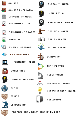 Icons For Education App